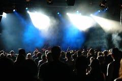 concert crowd Στοκ Εικόνα