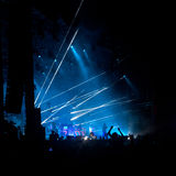 Concert crowd Stock Photography