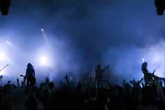 Concert Crowd Royalty Free Stock Image