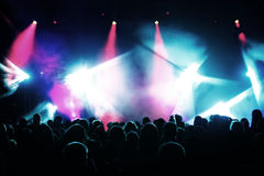 concert crowd Στοκ εικόνες με δικαίωμα ελεύθερης χρήσης