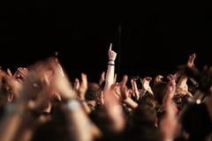 concert crowd Στοκ Φωτογραφία
