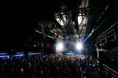 Concert d'éloge de partie de nuit Image libre de droits