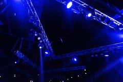 Concert d'éloge de partie de nuit Images libres de droits