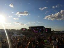 Concert d'été Photo libre de droits