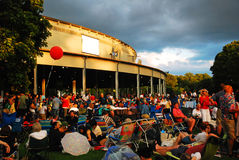 Concert d'été de Tanglewood Images libres de droits