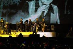 Concert d'Emil Wakin Chau Images stock