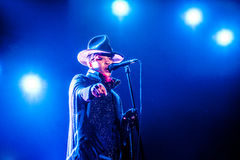 Concert d'Erykah Badu Photographie stock libre de droits
