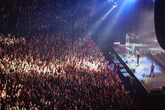 Concert d'A-HA à St Petersburg photographie stock