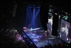 Concert d'A-HA à St Petersburg image stock