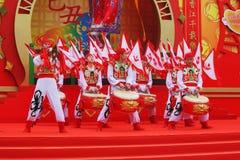 The concert dance folk ensemble. Royalty Free Stock Photos