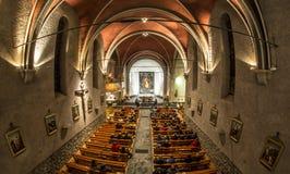 Concert dans une église Image libre de droits