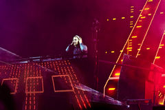Concert David Guetta Royalty Free Stock Image