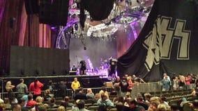 Concert de baiser Photos stock