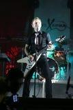 Concert de bande musicale chrétienne Image stock