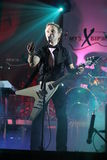 Concert de bande musicale chrétienne Images stock