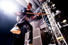 Concert de Deftones Photo stock