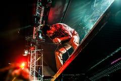 Concert de Deftones Image stock