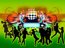 Concert de disco Images stock