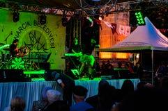Concert de festival de jour 19 mai de la jeunesse et de sports Image libre de droits