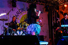 Concert de festival de jour 19 mai de la jeunesse et de sports Images stock