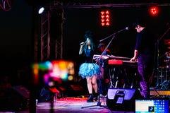Concert de festival de jour 19 mai de la jeunesse et de sports Image stock