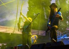 Concert de Finnroll Images libres de droits