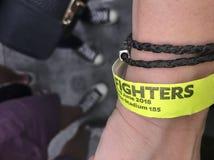 Concert de Foo Fighters à Londres photo libre de droits