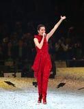 Concert de Gigi Leung dans Hom arrêté Photographie stock