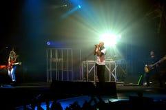 Concert de groupe de rock en Italie Photo stock