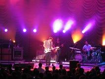 Concert de John Mayer Photographie stock