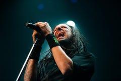 Concert de Korn Photo stock