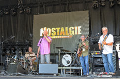 Concert de Legende de La de Nostalgie de radio Images libres de droits