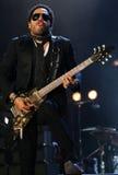 Concert de Lenny Kravitz Photographie stock libre de droits