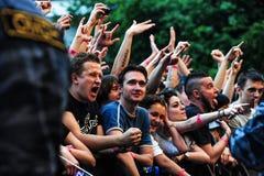Concert de Limp Bizkit Image libre de droits