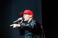 Concert de Limp Bizkit Photographie stock