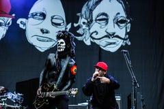 Concert de Limp Bizkit Photos libres de droits