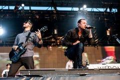Concert de Linkin Park Images stock