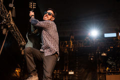 Concert de Linkin Park Image stock