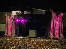 Concert de Madonna Images libres de droits