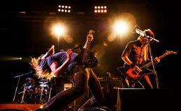 Concert de mastodonte images stock