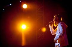 Concert de Matisyahu Photos libres de droits
