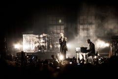 Concert de maux Image stock