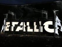 Concert de Metallica photos stock