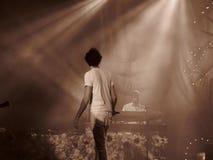 Concert de Mika à Cagliari - juin 2010 Photo libre de droits