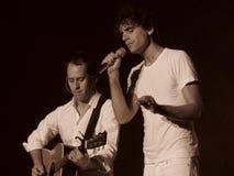 Concert de Mika à Cagliari - juin 2010 Photos libres de droits