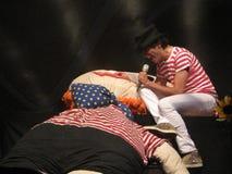 Concert de Mika à Cagliari - juin 2010 Image libre de droits