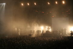 Concert de musique Images libres de droits