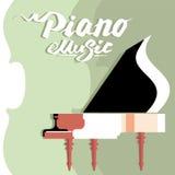 Concert de musique de panneau d'affichage de calibre Images stock