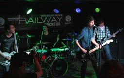 Concert de musique pop Images stock