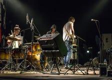Concert de musique rock Images stock